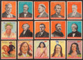 "Non-Sport Cards:Lots, 1932 U.S. Caramel ""Presidents"" (9) and 1933-41 Goudey IndianCollection (62). ..."