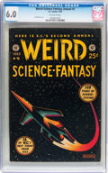 Golden Age (1938-1955):Science Fiction, Weird Science-Fantasy Annual #2 (EC, 1953) CGC FN 6.0 Off-whitepages....