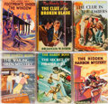 Books:Children's Books, Franklin W. Dixon. Group of Six Hardy Boys Books in DustJackets. Grosset & Dunlap, 1933-1956. Good or better co...(Total: 6 Items)