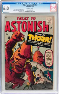 Tales to Astonish #16 (Marvel, 1961) CGC FN 6.0 Off-white pages