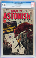 Silver Age (1956-1969):Mystery, Tales to Astonish #22 (Marvel, 1961) CGC VG/FN 5.0 Off-white towhite pages....