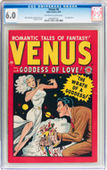 Golden Age (1938-1955):Romance, Venus #6 (Timely, 1949) CGC FN 6.0 Off-white to white pages....