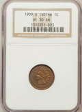 Indian Cents: , 1909-S 1C VF30 NGC. NGC Census: (211/971). PCGS Population(360/1415). Mintage: 309,000. Numismedia Wsl. Price for problem ...