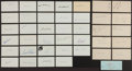 Baseball Collectibles:Others, Hall of Famers & Obscure Players Signed Index Cards 40 Total....