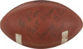 Football Collectibles:Balls, 1974 George Allen Signed NFL Game Ball....