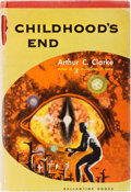 Books:Science Fiction & Fantasy, Arthur C. Clarke. SIGNED. Childhood's End. Ballantine, 1953.First edition, first printing. Signed by the author. ...