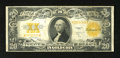 Large Size:Gold Certificates, Fr. 1187 $20 1922 Gold Certificate Fine-Very Fine. Sound edges on this example that exhibits nice color for the grade....