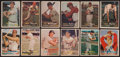 Baseball Cards:Sets, 1957 Topps Baseball Partial Set (218/407) With 33 Mid Series Cardsand 2 Autographed Cards . ...