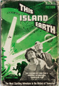 Books:Science Fiction & Fantasy, Raymond F. Jones. This Island Earth. Shasta, 1954. Movietie-in edition. Minor rubbing to boards with a slightly lea...