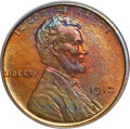 Proof Lincoln Cents, 1912 1C PR66 Red and Brown PCGS....