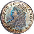 Proof Bust Half Dollars, 1825 50C PR62 PCGS. O-113, R.8 as a Proof....