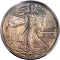 1916 50C Walking Liberty Half Dollar, Judd-1992, formerly Judd-1797, Pollock-2053, Low R.7, PR55 PCGS....(PCGS# 62290)