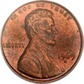 Lincoln Cents, 1969-S 1C Doubled Die AU55 PCGS. FS-101....