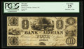 Obsoletes By State:Michigan, Adrian, MI- Bank of Adrian $4 Sept. 10, 1838 G8a Lee ADR-1-8. ...