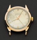 Timepieces:Wristwatch, Juvenia 18k Gold Vintage Automatic. ...