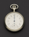 Timepieces:Pocket (post 1900), New York Standard 16 Size Chronograph. ...