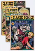 Golden Age (1938-1955):Classics Illustrated, Classics Illustrated Short Box Group (Gilberton, 1940s-60s)Condition: Average VG....