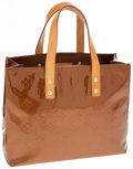 Luxury Accessories:Bags, Louis Vuitton Bronze Vernis Lead PM Tote Bag. ...