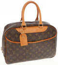 Luxury Accessories:Bags, Louis Vuitton Classic Monogram Canvas Deauville Top Handle Bag. ...