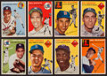 Baseball Cards:Sets, 1954 Topps Baseball Near Set (199/250). ...