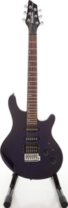 Musical Instruments:Electric Guitars, 1998 Washburn Model BT-4DB Maverick Purple Solid Body ElectricGuitar, Serial # I80102125....