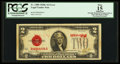 Error Notes:Ink Smears, Fr. 1508 $2 1928G Legal Tender Note. PCGS Apparent Fine 15.. ...