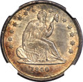 Seated Quarters, 1840-O 25C No Drapery MS63 NGC. Briggs 1-A....