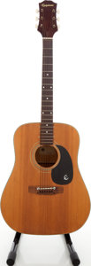 Musical Instruments:Acoustic Guitars, 1970s Epiphone FT-140 Natural Acoustic Guitar. ...