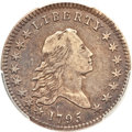 Early Half Dollars, 1795 50C 2 Leaves VF35 PCGS. CAC. O-104, R.4....
