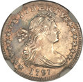 Early Half Dimes, 1797 H10C 15 Stars -- Improperly Cleaned -- NGC Details. AU. V-2,LM-1, R.3....