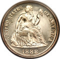 Proof Seated Dimes, 1888 10C PR66 Cameo PCGS....