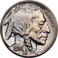 Proof Buffalo Nickels, 1936 5C Type Two--Brilliant Finish PR66 PCGS. CAC....