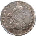 Early Dimes, 1805 10C 4 Berries AU53 PCGS. JR-2, R.2....
