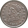 Large Cents, 1812 1C Large Date MS63 Brown NGC. S-288, B-3, R.2....