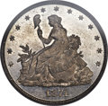 Patterns, 1874 20C Twenty Cents, Judd-1358, Pollock-1503, High R.7, PR66PCGS. CAC....