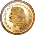 Proof Four Dollar Gold Pieces, 1879 $4 Flowing Hair, Judd-1635, Pollock-1833, R.3, PR67 Cameo NGC. CAC....