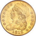 Early Half Eagles, 1812 $5 MS62 PCGS. CAC. BD-1, R.3....