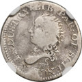 Early Half Dimes, 1792 H10C Half Disme, Judd-7, Pollock-7, R.4 -- Bent -- NGCDetails. Fine....