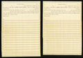 Miscellaneous:Other, Goldfield, NV- Promissory Notes Payable to The Nye & OrmsbyCounty Bank Thirty-seven Examples. ... (Total: 37 items)