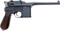 Handguns:Semiautomatic Pistol, German Mauser Model 96 Semi-Automatic Pistol....