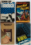 Books:Mystery & Detective Fiction, Desmond Cory. Group of Four First Edition, First Printing Books.Various, 1953-1977. Very good or better condition.... (Total: 4Items)
