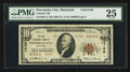 National Bank Notes:Maryland, Pocomoke City, MD - $10 1929 Ty. 2 Citizens NB Ch. # 14106. ...
