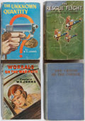 Books:Fiction, W. E. Johns. Group of Four First Edition Biggles Books.Various, 1933-1943. Scattered foxing. Minor rubbing and ... (Total:4 Items)