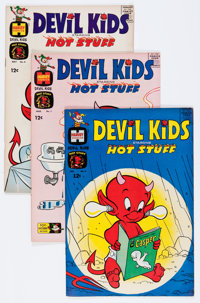 Devil Kids Starring Hot Stuff File Copies Box Lot (Harvey, 1962-81) Condition: Average NM-