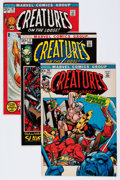 Bronze Age (1970-1979):Horror, Creatures on the Loose/Marvel Chillers Group (Marvel, 1970s)Condition: Average VF+.... (Total: 19 Comic Books)