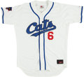 Baseball Collectibles:Uniforms, 1992 Bert Blyleven Game Worn Edmonton Trappers Jersey & Forth Worth Cats Minor League Jersey Signed by Maury Wills. ...