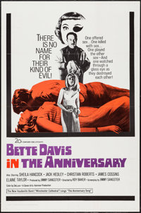 "The Anniversary (Seven Arts, 1967). One Sheet (27"" X 41""). Comedy"