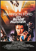 "Movie Posters:Science Fiction, Blade Runner (Warner Brothers, 1982). German A1 (23"" X 33"").Science Fiction.. ..."