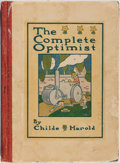 Books:Children's Books, Childe Harold. The Complete Optimist. Dutton, 1912. Quartercloth with illustrated boards. Rubbing and light soiling...