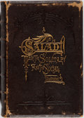Books:Americana & American History, [Wit and Humor]. Salad for the Solitary and the Social.Lent, 1872. Contemporary leather with minor rubbing and scuf...